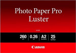 Photo Paper Pro Luster A2 LU-101