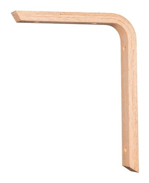 Mensola in legno faggio e pino 200 mm