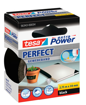 extra Power® Perfect 2.75m:38mm schwarz