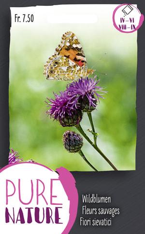 Wildblumen für Schmetterlinge Bien. 1.5g