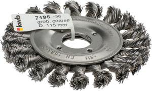 AGGRESSO POWER Brosse plate, ø 115 mm