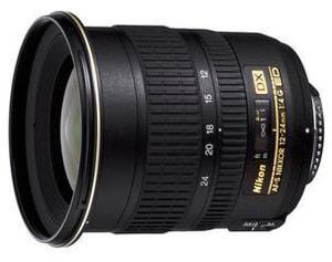 Nikkor AF-S DX 12-24mm/4 G IF-ED Objectif
