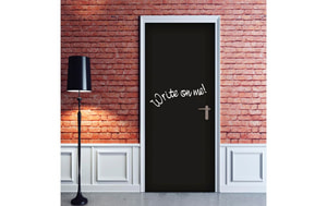 CREARREDA DOOR COVER BLACKBOARD