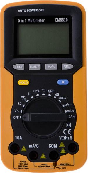 Apparecchio di misura digitale EM5510