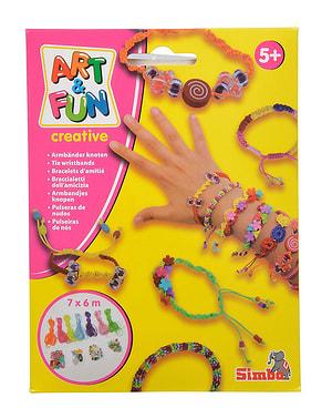 A&F bracelets noeud