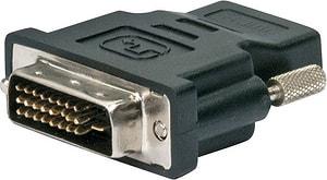 Adapter HDMI/DVI schwarz