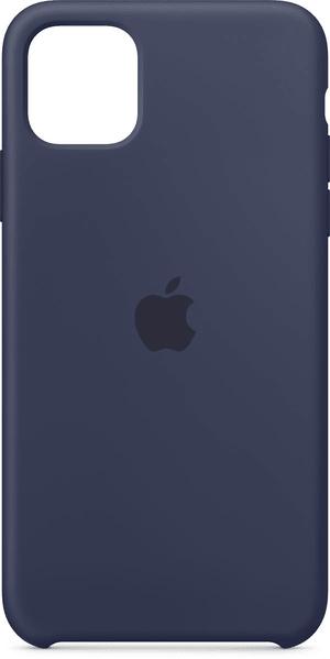 iPhone 11 Pro Max Silikon Case Mitternachtsblau