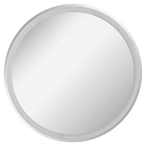 Miroir tableau rond