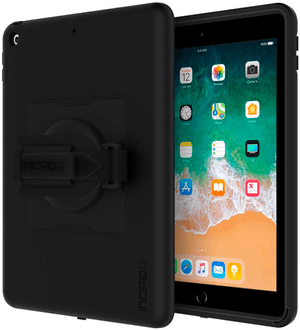 "Capture Rugged Case with Handstrap for Apple iPad 9.7"" black"
