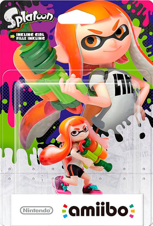 amiibo Super Smash Bros. Character - Inkling Girl