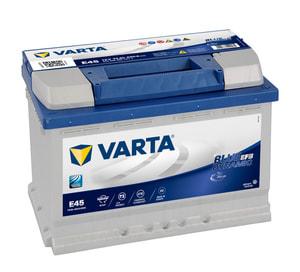 Autobatterie Blue Dynamic EFB 570500065 70Ah H6