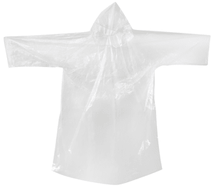 Poncho Set transparent