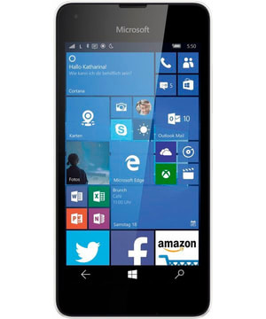 SWC Prepaid Microsoft Lumia 550 blanc