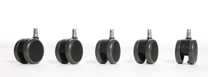 Set de roulettes à parquet 11mm