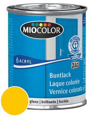 Acryl Laque colorée brillante Rouge vin 750 ml