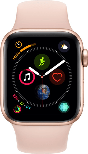 Watch Serie 4 40mm GPS+Cellular gold Aluminum Pink Sand Sport Band