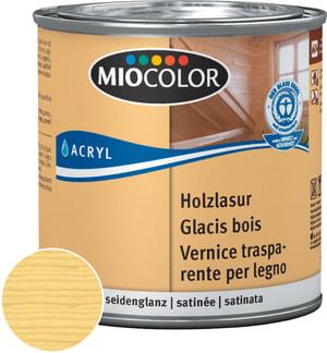 Acryl Vernice trasparente per legno Bianco calce 375 ml