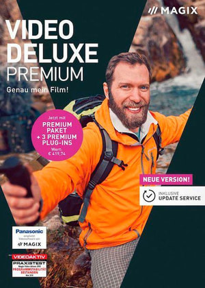 MAGIX Video deluxe Premium 2019 [PC] (F/I)