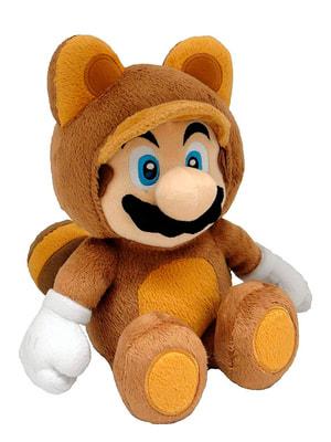 Tanooki Mario en peluche