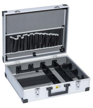 Mallette à outils en aluminium