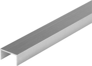 U-profilo rettangolare 15.5 x 27.5 naturale 1 m