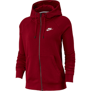 Women's Sportswear Full-Zip Fleece Hoodie