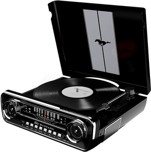 MUSTANG LP - Schwarz