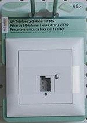 FELL UP TELEFON-STECKDOSE TT89