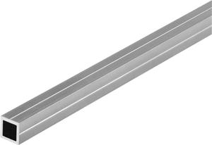 Tubo quadrato 11.5 mm naturale 1 m