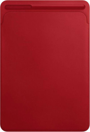 Leather Sleeve for 10.5-inch iPad Pro Rouge