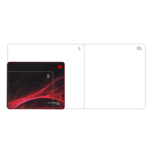 Gaming Mouse Pad FURY S Pro Speed Edition (Medium)