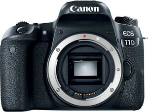 Corps EOS 77D, corps 24,2 MP uniquement