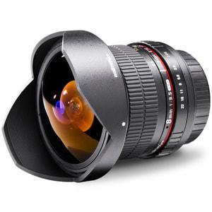 Walimex Pro - 8mm f/3,5 Fish-Eye II AE Objektiv für Nikon