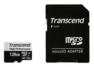 microSD Card 330S, 128GB SDXC inkl. Adapter