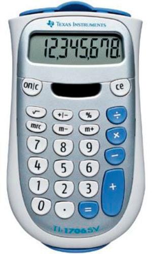 Calculatrice TI1706SV 8-chiffres
