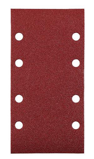Schleifstreifen, Edelkorund, 93 x 185 mm, K180