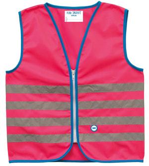 Warnweste Fun Jacket Pink M