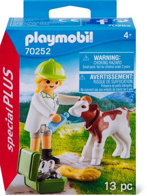 PLAYMOBIL 70252 Veterinaria con vite