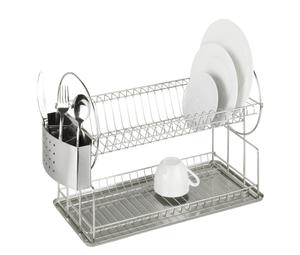 Égouttoir à vaisselle Exclusif Duo acier inoxydable