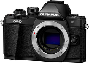 OM-D E-M10 II noir