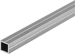 Tubo quadrato 19.5 mm naturale 1 m
