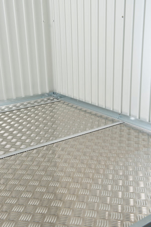 Lastra per pavimento in alluminio per la casetta portattrezzi AvantGarde A2