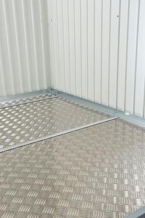Lastra per pavimento in alluminio per la casetta portattrezzi AvantGarde A4