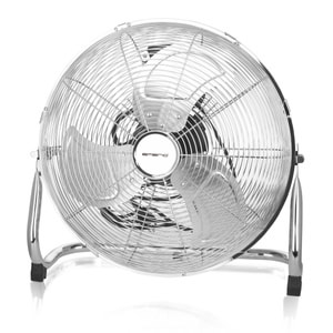 Bodenventilator Chrom Retro 40'