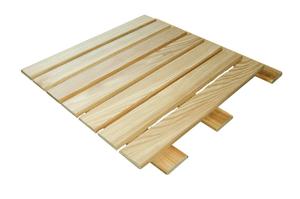 Holzrost Lärche naturbelassen 50 x 50 cm