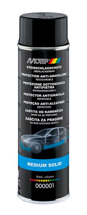 Protection anti-impacts noir