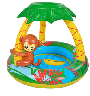 Baby Pool Affe