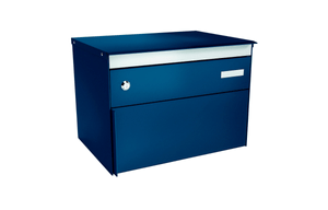 Briefkasten s:box13 Saphirblau/Blau