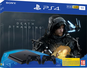 PlayStation 4 1TB + 2 Dualshock4 + Death Stranding