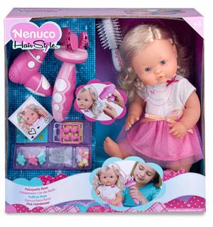 Puppe Nenuco Frisurset